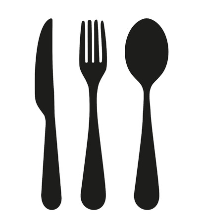 spoon: knife, fork and spoon