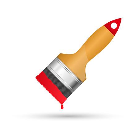 unused: Brush. Vector illustration Illustration