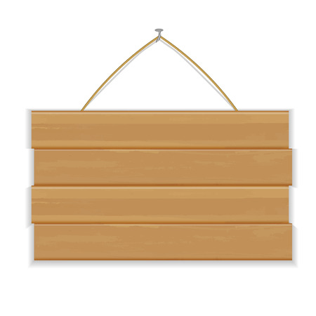 wooden vector mesh: Wooden Board, With Gradient Mesh, Vector Illustration Illustration
