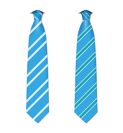 ascot: Plaid, checkered silk ties template. Easy editable colors - vector. Illustration