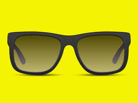ray ban: Sunglasses vector illustration background