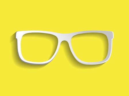 wayfarer: Sunglasses vector illustration background