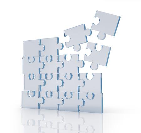 ambiguity: Transparent puzzles.