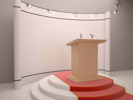 hustings: Stand on the stage