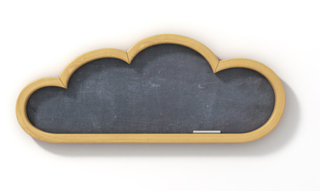 could: Concept of learning. School board in the form of an could.