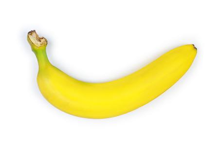 bad banana: banana on a white background