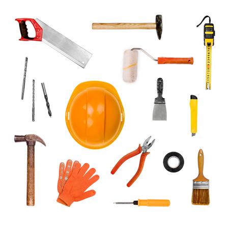 fontanero: Un conjunto de herramientas - aislados en blanco