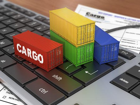 warehouse equipment: Ship containers on the keyword