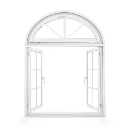 Aprire la finestra al cortile Archivio Fotografico - 42740684