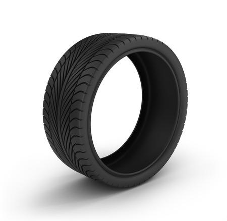 car tire: Car tire.