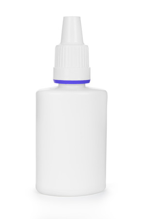 nasal: medicine spray nasal isolated on a white background