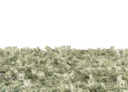 gain money: Dollar argent