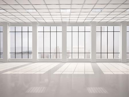 empty glass: oficina