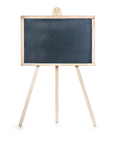 isolation backdrop: School board isolated on a white background Stock Photo