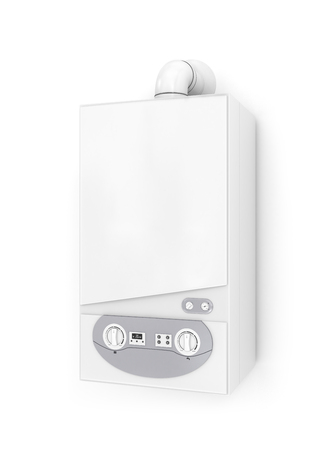 thermodynamic: White gas boiler.