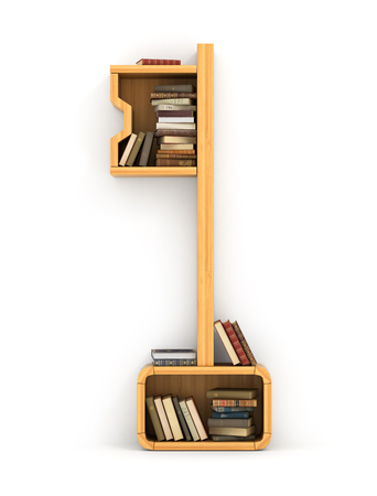 knowledge: Concept of training. Wooden bookshelf in form of key. The key to knowledge. Psychology. A human have more knowledge.