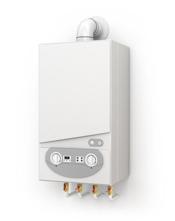 Boiler, space heating 写真素材
