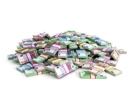 数百万ユーロ ユーロ紙幣の