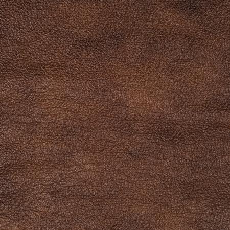 cuero vaca: Textura de cuero marrón de fondo de cerca Foto de archivo