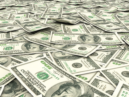 franklin: Money background from dollars usa. Stock Photo