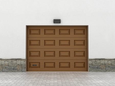 garage doors: Garage doors. Garage concept.