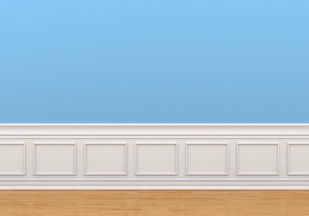 classic interior: Classic interior with wall panel