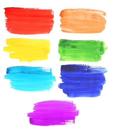 rainbow colors: Abstract watercolor rainbow colors background