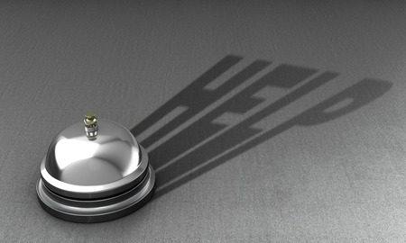 persona llamando: The concept of helping a person. Calling for help.3d illustration