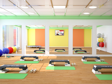 energy healing: fitness, sport, training, gym and lifestyle concept. 3d illustrtion