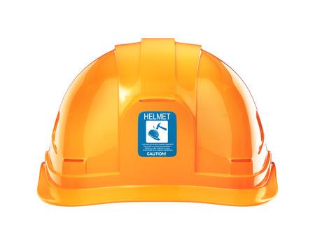 Construction Helmet. 3d illustration