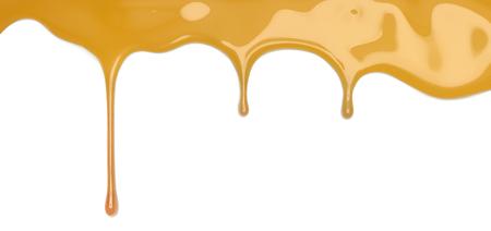 honey pouring 3d illustration