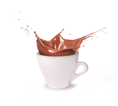 A cup of chocolate 스톡 콘텐츠