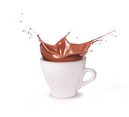 A cup of chocolate Foto de archivo