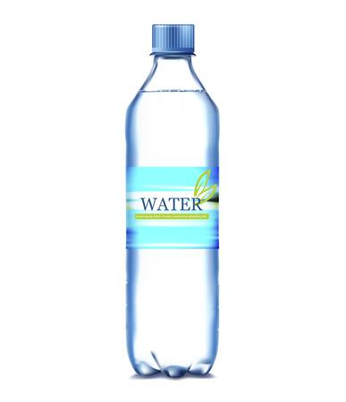 Bottle of water 向量圖像