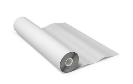 paper roll. 3d illustration