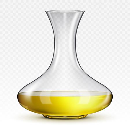 Jarra para vino sobre fondo transparente Foto de archivo - 97656411