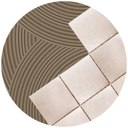 Vector. Tile glue. Tile. Background