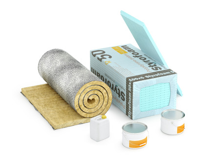 Insulating materials for premises and insulation of various structures.