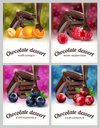 Package design for dessert. Vector illustration. 写真素材 - 128241687