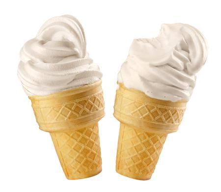 Ice cream and milk