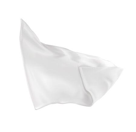 Illustration vectorielle d'une serviette très blanche