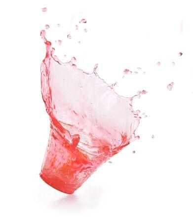 Splash pink. Soda drink