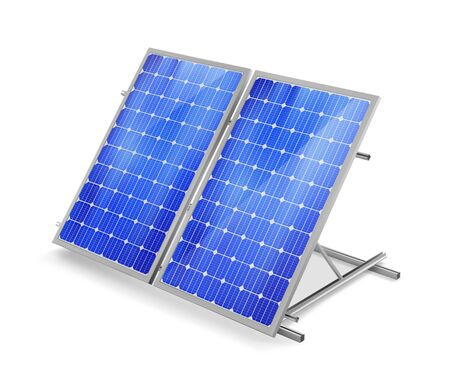 Solar panel. Vector illustration.