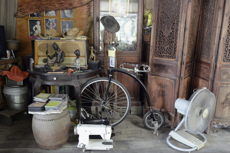 bangrak: A SHOP in Bangrak district, on the Mae Nam Chao Phraya River in Bangkok, capital of Thailand in South East Asia