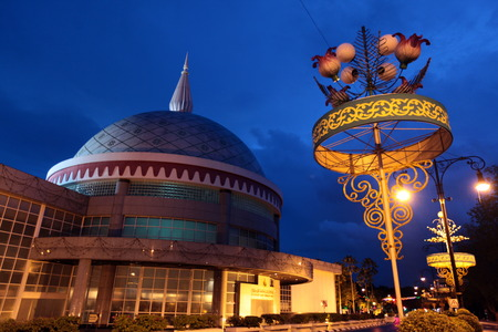 The Museum of the insignia of the Royal House of Bruneiim center of the capital Bandar Seri Begawan in Brunei Darussalam Kingdom on Borneo in South East Asia