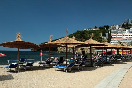 europe eastern: Europe, Eastern Europe, Balkans, Montenegro, Mediterranean, Adriatic, Budva, Old Town, beach,