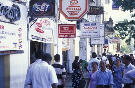 asien: Asien, Indischer Ozean, Sri Lanka, Das Stadtzentrum von Kandy im Zentralen Gebierge von Sri Lanka. (URS FLUEELER)        Editorial