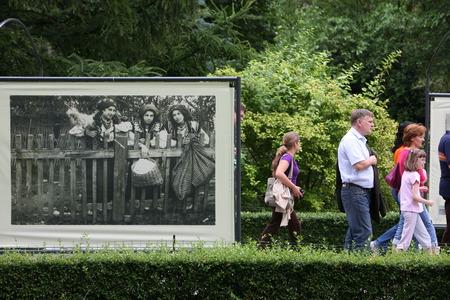 seconda guerra mondiale: Un museo di storia sulla seconda guerra mondiale al Przedmiescie strada nella citt� di Varsavia in Polonia.