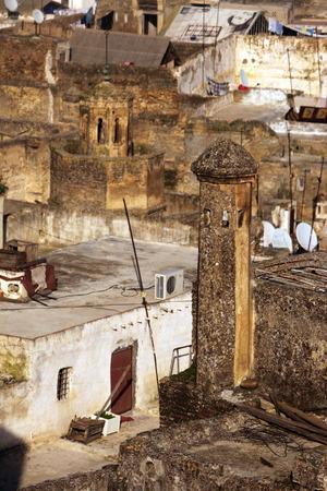 afrique du nord: La m�dina de la vieille ville dans la ville historique de F�s, au Maroc, en Afrique du nord. Editeur