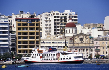 quater: The City quater of Sliema in the city of Valletta on Malta in Europe. Editorial